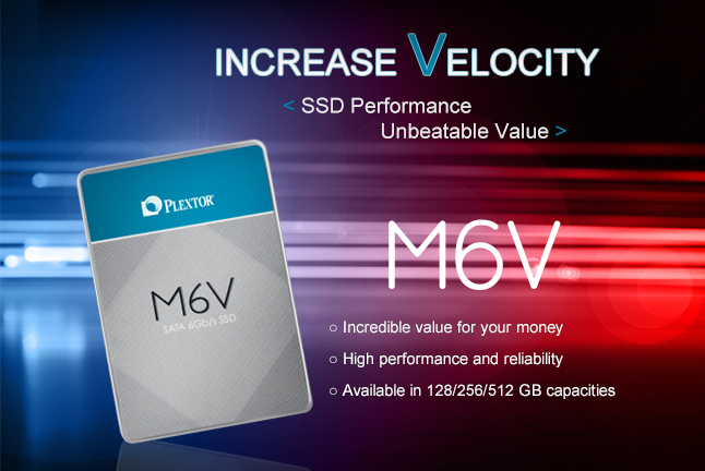 Plextor Launches M6V SSD