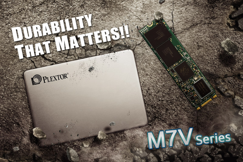 Plextor Launches M7V series SSDs