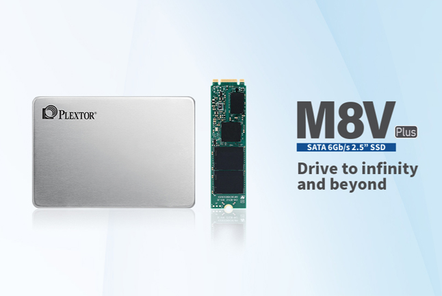 PLEXTOR Unveils New M8V Plus Series Solid States Drives