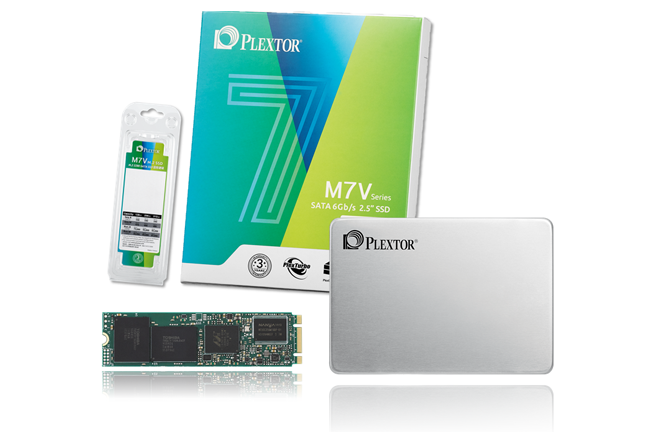 Plextor M7V Series Leads the TLC SSD Market