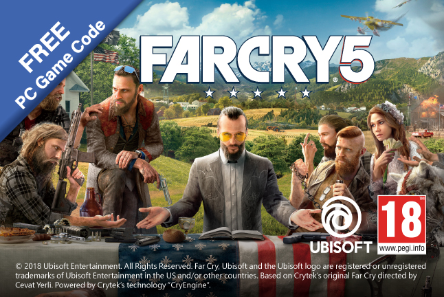 "[Plextor Bundle Promotion] Get Your Free ""Far Cry 5"" PC Game Code"